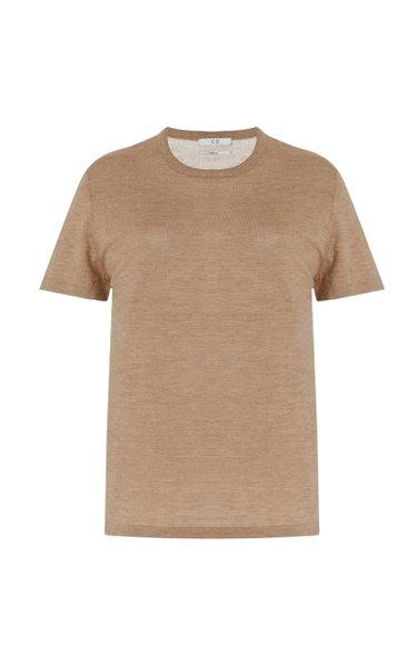 Cashmere Knit T-Shirt