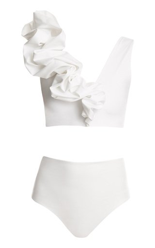 Rosa Ruffled Two-Piece Swimsuit