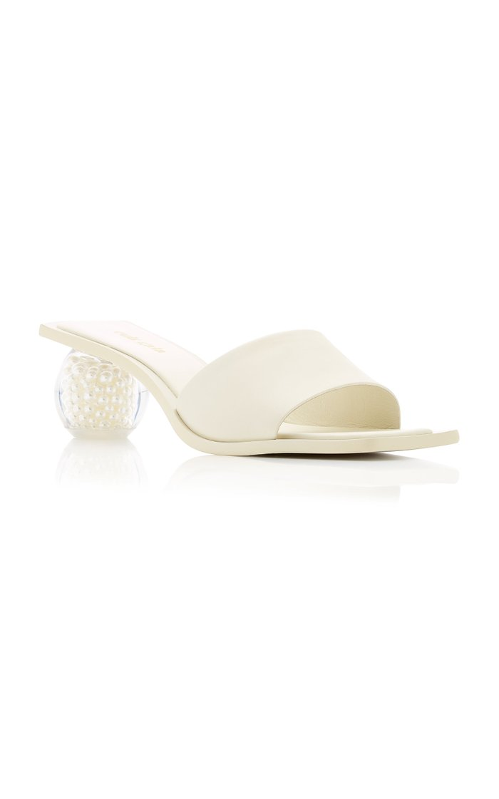 Tao Pearl Leather Sandals