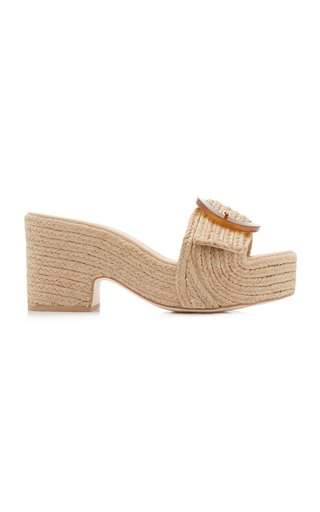 Cleia Jute Platform Sandals