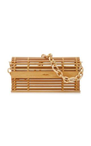 Sylva Caged Bamboo Shoulder Bag