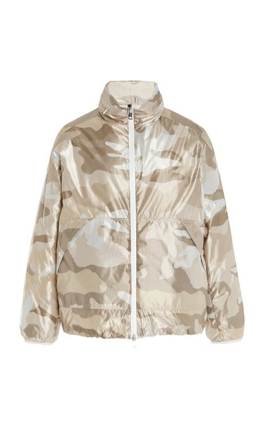 Menchib Camouflage Down Shell Jacket
