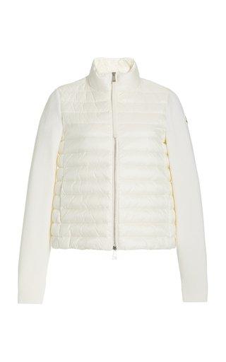 Down-Paneled Wool Jacket