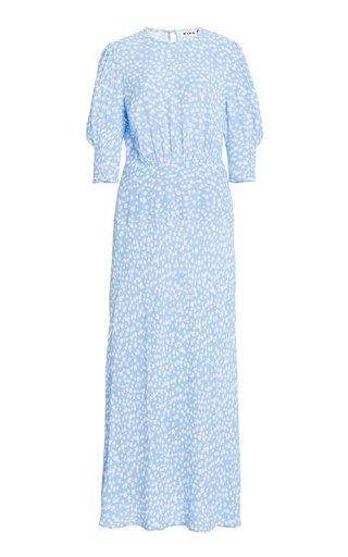 Lucile Crepe Midi Dress