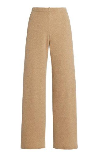 Sierra Wool-Blend Wide-Leg Pants