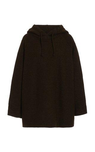 Bella Oversized Wool-Blend Sweatshirt