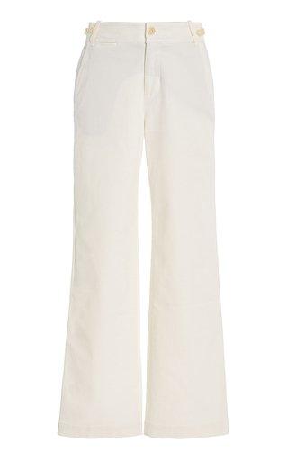 Cotton-Blend Utility Pants