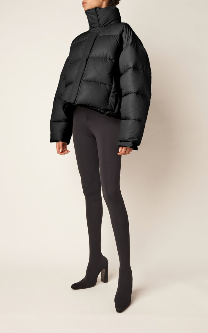 BB Padded Shell Short Puffer Coat