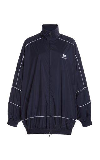 Zip-Up Shell Windbreaker Jacket