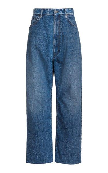 Baggy Rigid Low-Rise Wide-Leg Jeans