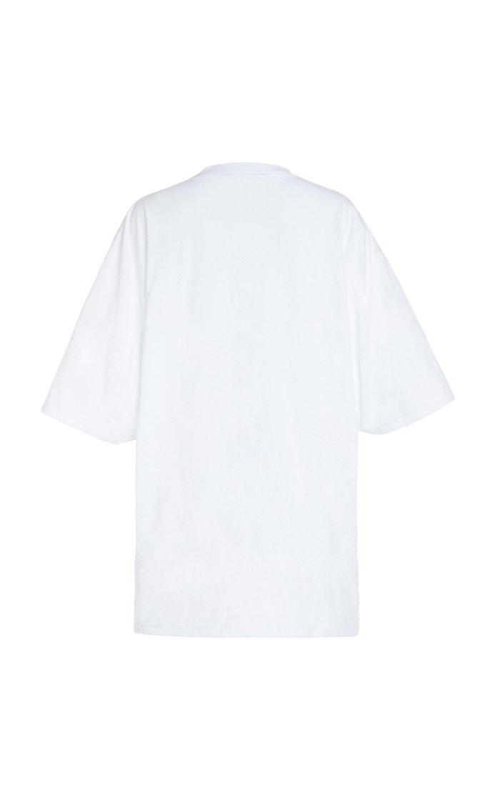 Oversized Logo Jersey T-shirt