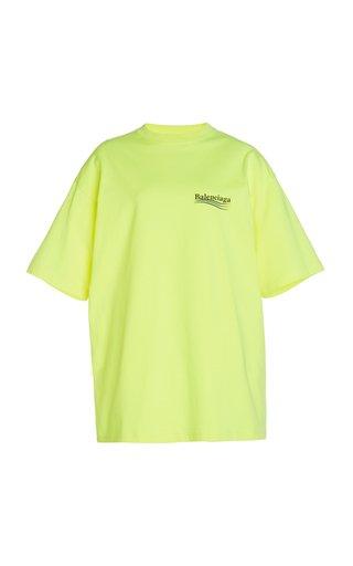 Logo Printed Jersey T-Shirt