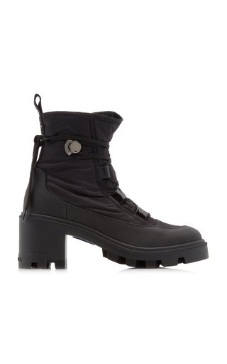 Cheryne Leather Lug-Sole Boots