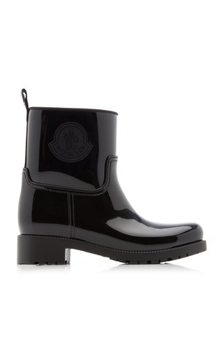Ginette Patent Leather Rain Boots