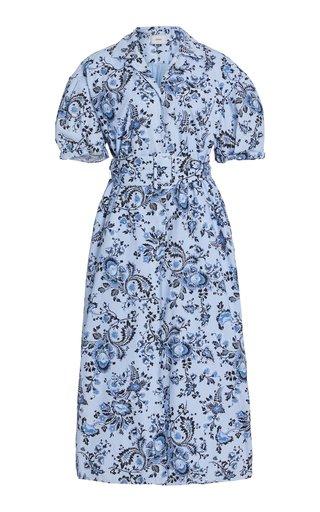 Frederick Belted Cotton Shirt Dress