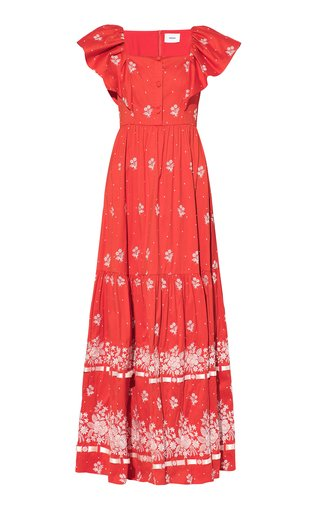 Colinette Cotton-Blend Maxi Dress