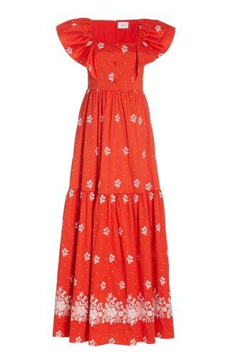 Colinette Cotton-Blend Maxi Dress