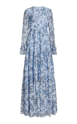 Alvaro Silk Paisley Gown