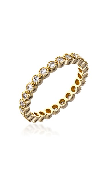 The Bezel 18k Yellow-Gold and Diamond Ring