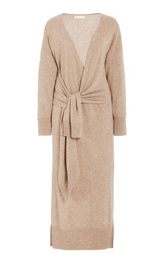 Skyla Wool-Cashmere Midi Wrap Dress