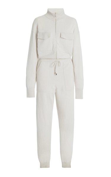 Iman Wool-Cashmere Jumpsuit