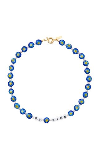 """""""Be Kind"""" Glass Beaded Necklace"""