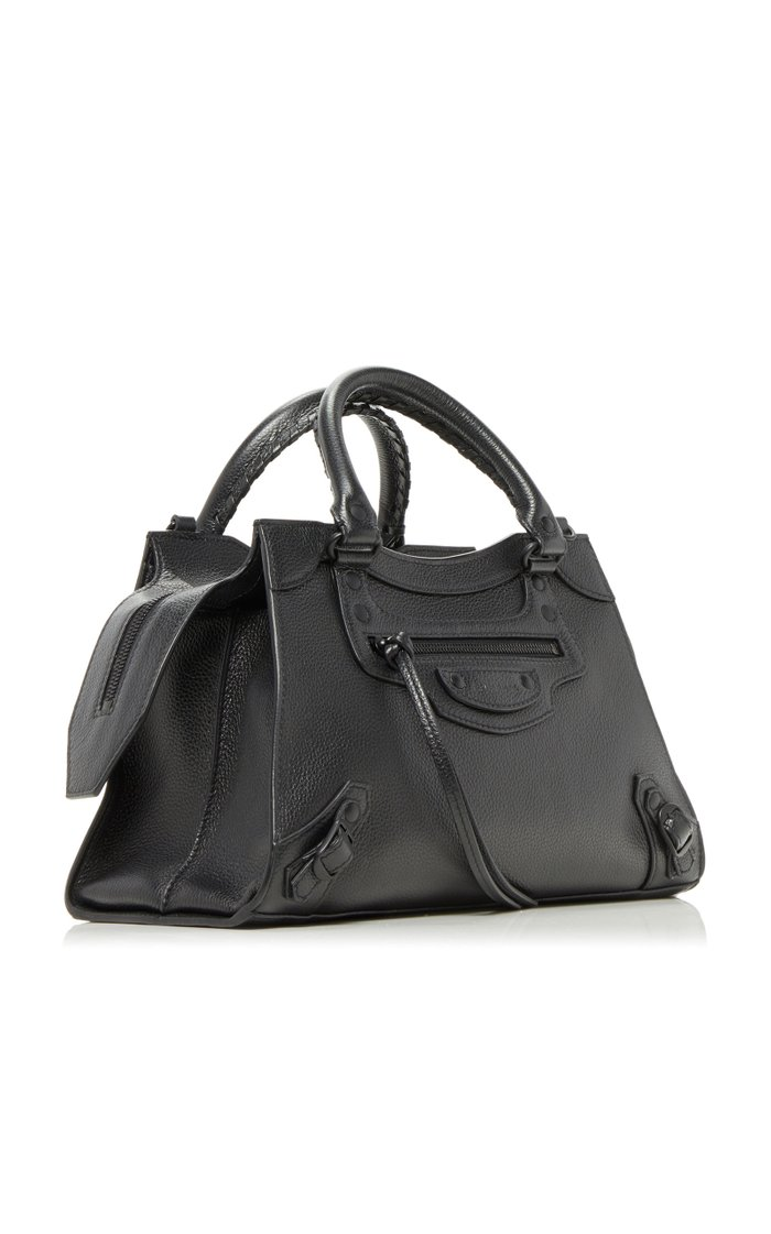 Neo Classic City Small Textured-Leather Bag