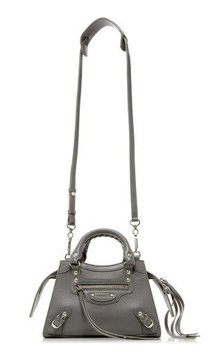 Neo Classic City Mini Textured-Leather Bag