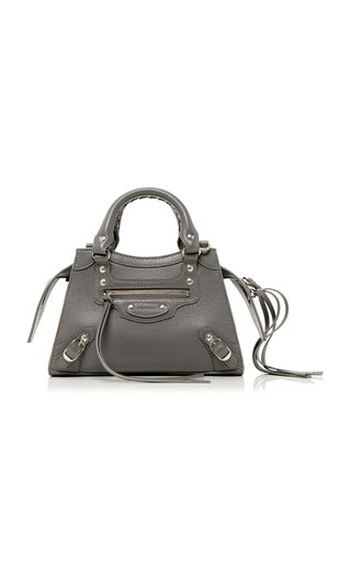 Neo Classic City Mini Textured-Leather Bag