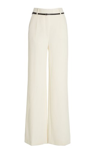 Jess Wool Wide-Leg Trousers