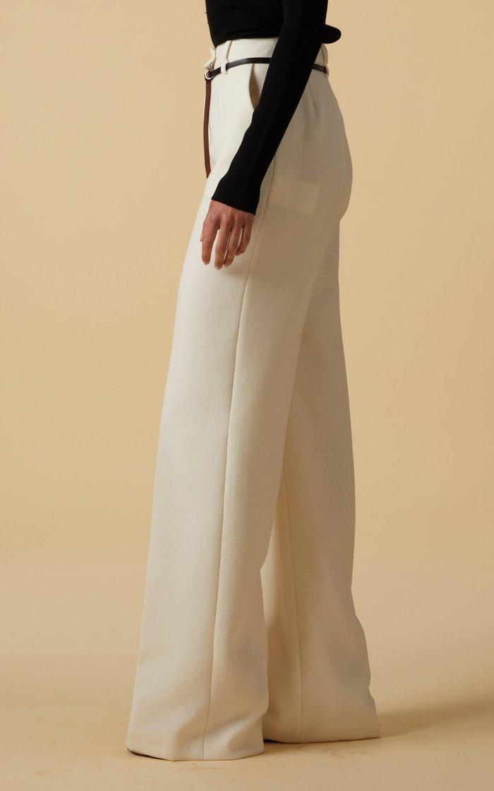 Jess Wool Wide-Leg Trousers