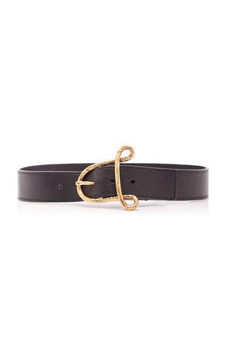 """A"" Leather Belt"