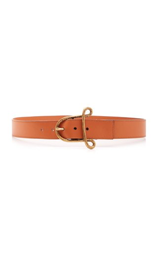 """A"" Leather Belt"