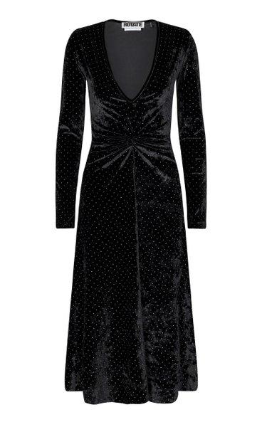 Lily Velvet Midi Dress