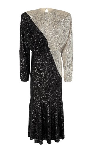 Billie Two-Toned Sequin Dress