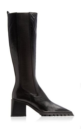 Parker Stretch Leather Chelsea Boots