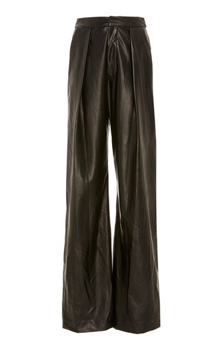 SpecialOrder-Relaxed Leather Lounge Pants-BM