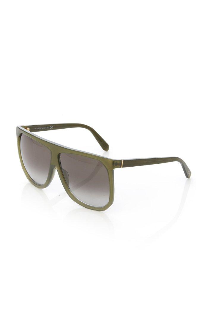 Filipa Oversized Acetate Sunglasses