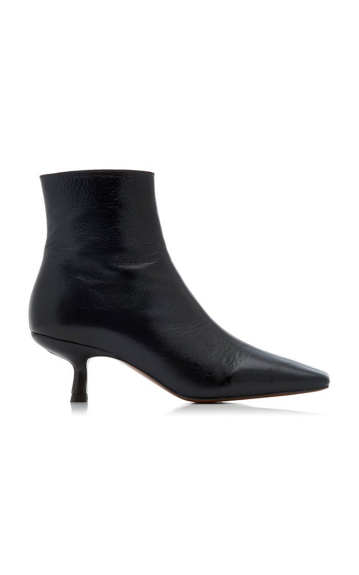 Lange Leather Ankle Boots