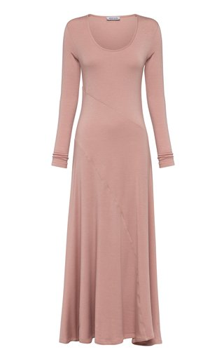 Marika Scoop-Neck Jersey Maxi Dress