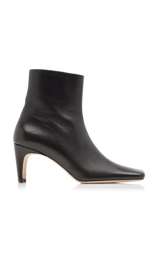 Eva Leather Ankle Boots