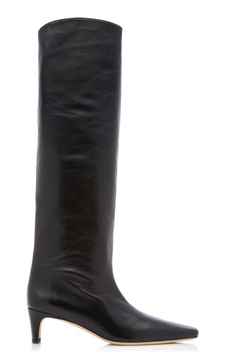 Wally Tall Leather Boots