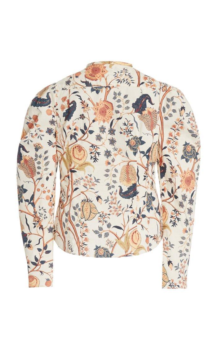Harriet Puffed Sleeve Blouse