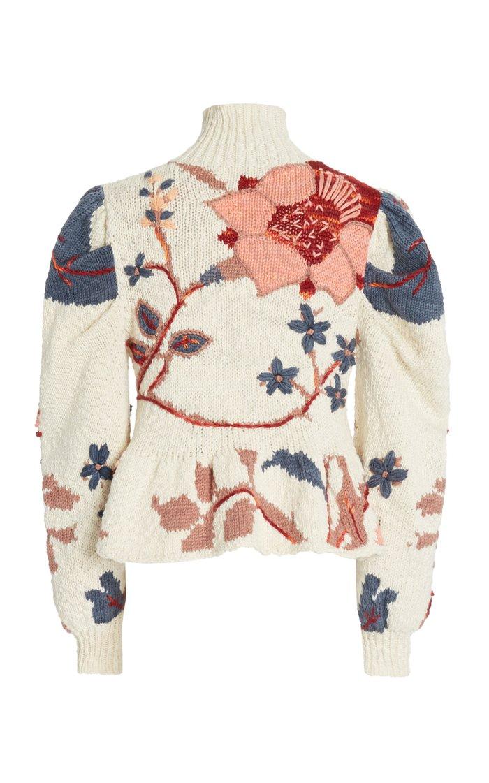 Palma Intarsia-Knit Sweater