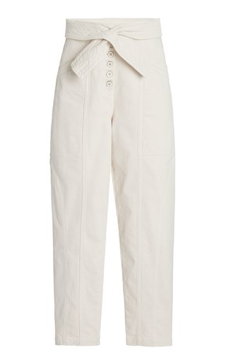 Otto High-Rise Tapered Jeans