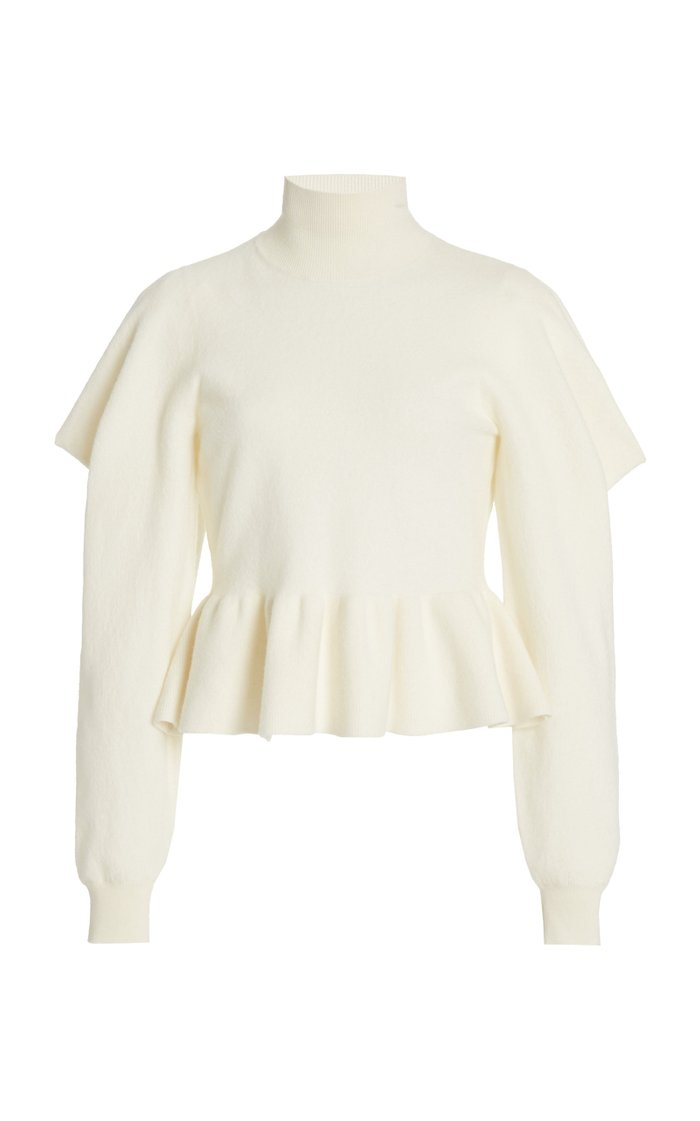 Rosa Merino Wool Turtleneck Top