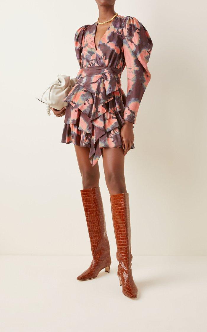 Semira Silk Mini Dress
