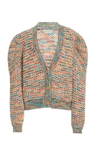 Fiora Merino-Mohair Wool Blend Cardigan