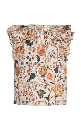 Liv Printed Cotton Top