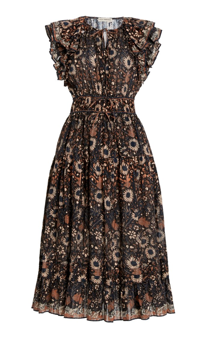 Analise Cotton Midi Dress